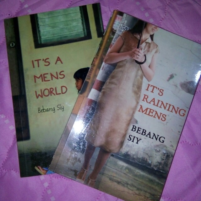 It's a mens world & It's raining mens (Bebang Siy)