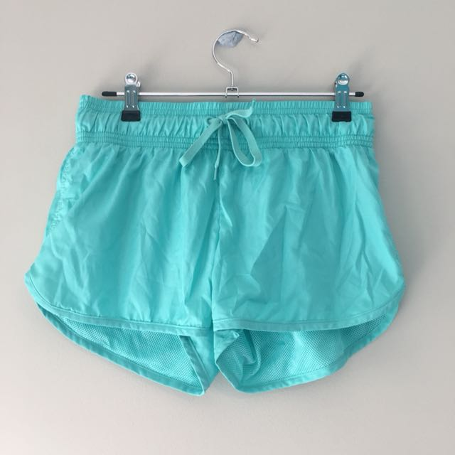 Kmart green shorts (10)