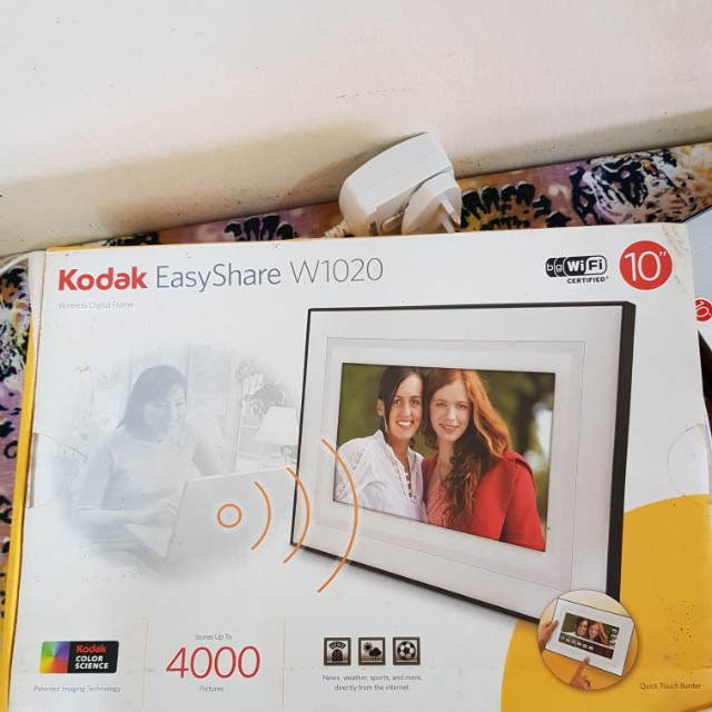 kodak easyshare w1020 wireless frame mobiles tablets others on rh my carousell com