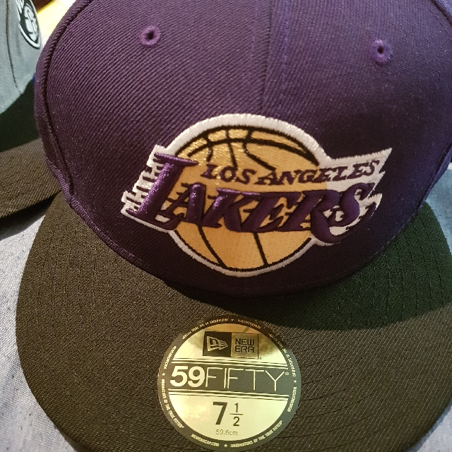 Lakers caps 59fifty 7.5
