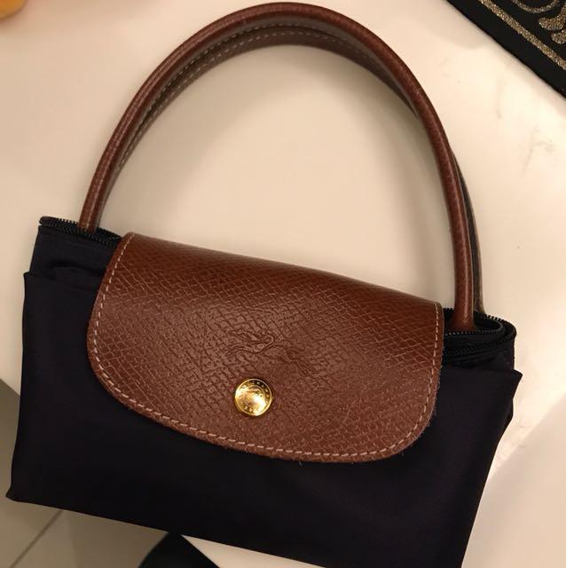 Longchamp短把手提包