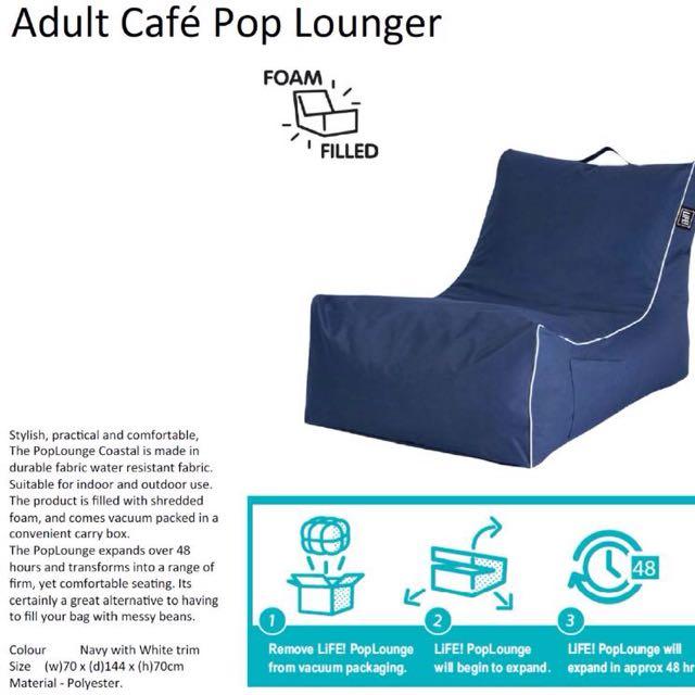 Lounger indoor / outdoor