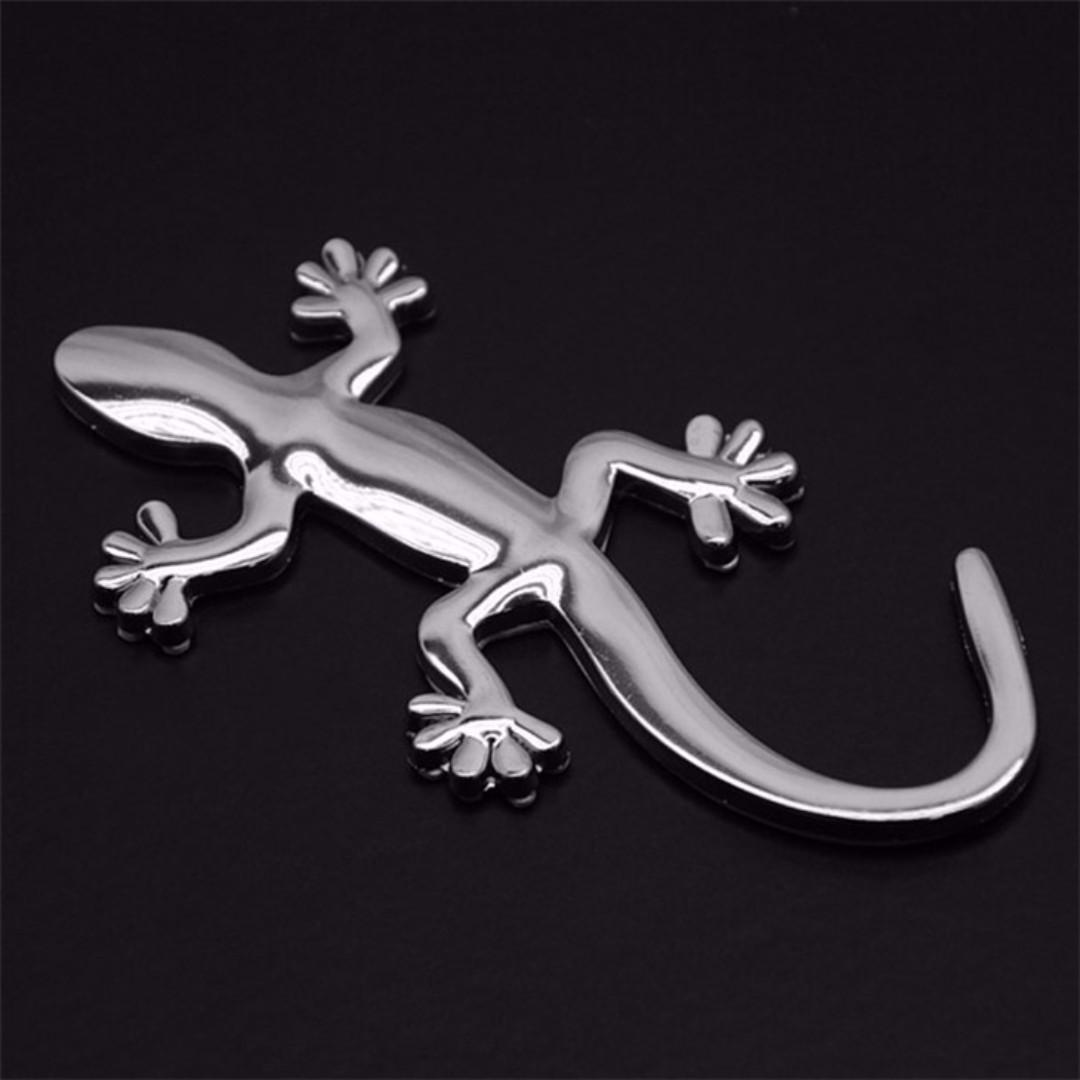 Lucky Gecko 3d Car Sticker Auto Accessories On Carousell