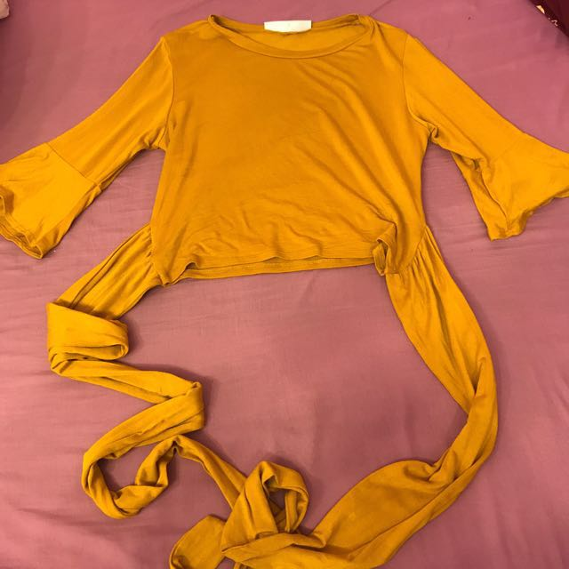 M boutique tie top