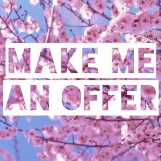 Make me offers or swaps or bundles