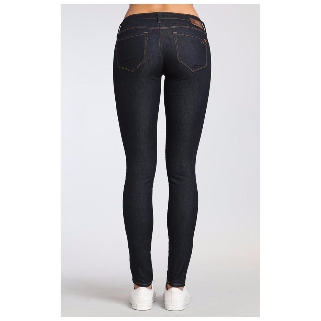 Mavi Serena Super Skinny Jeans in Rinse Super Dark Denim Jegging