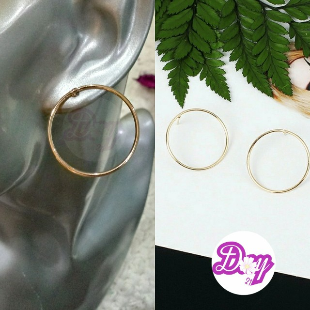 [Min order FREE GIFT For Day21 Purchase - Round Trendy Earrings