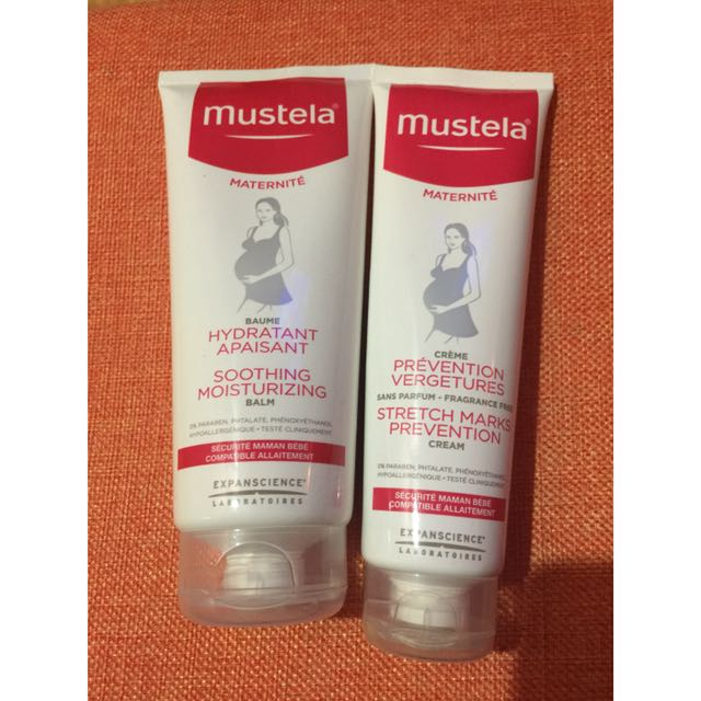 Mustela Soothing Moisturizing Balm + FREE Mustela Stretch Marks Prevention Cream
