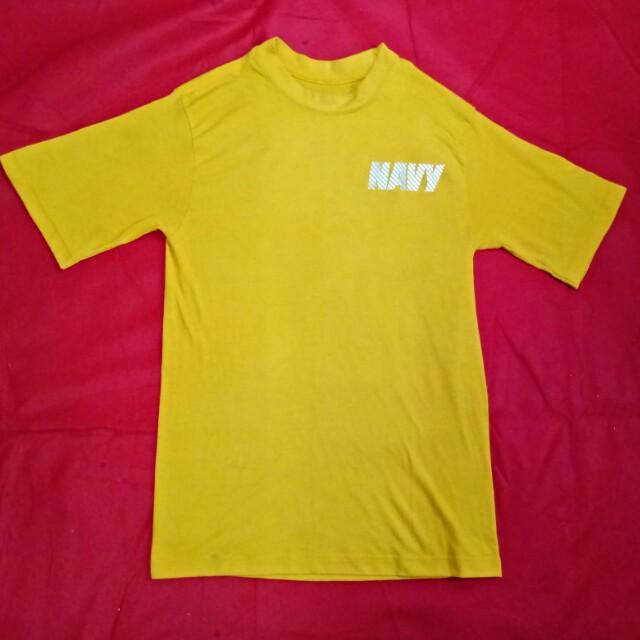 Navy army tshirt