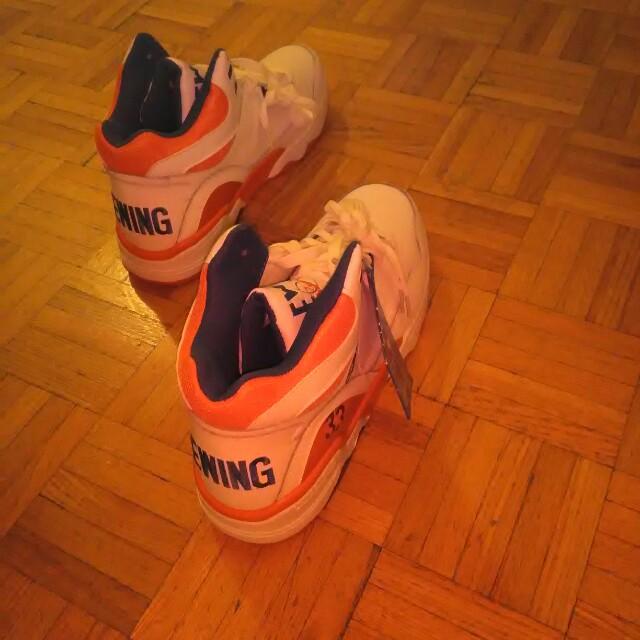 New collectible Patricka Ewing basketball shoes