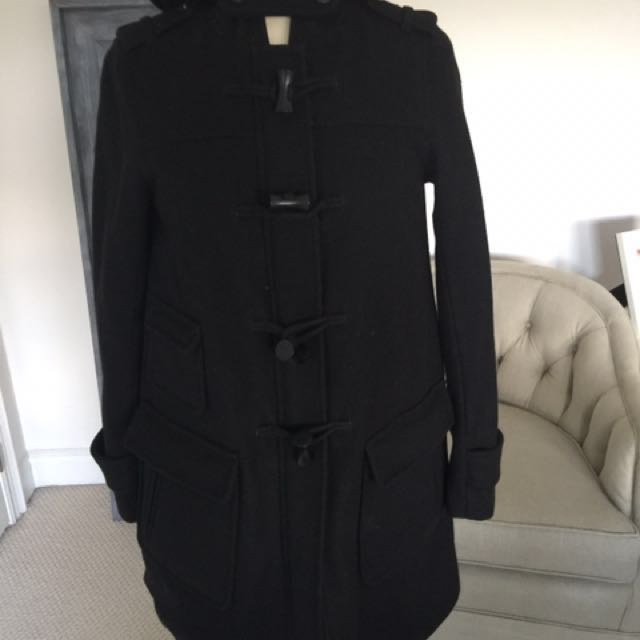 New Condition Warm Duffel Coat.