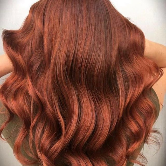 NEW IN UNOPENED PACKS - SALON QUALITY 9A GRADE FULL EUROPEAN HUMAN HAIR -  RUSTIC REDS