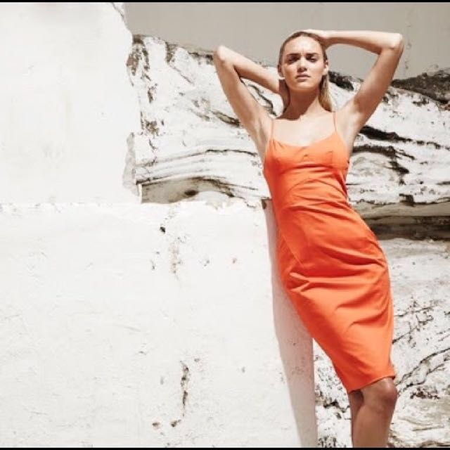 New Talulah Orange California Dress RRP $180