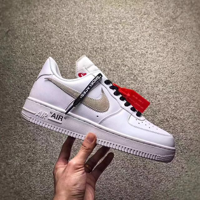 b9633c601d29e Nike Air Force 1 x Off White, Men's Fashion, Footwear, Sneakers on Carousell