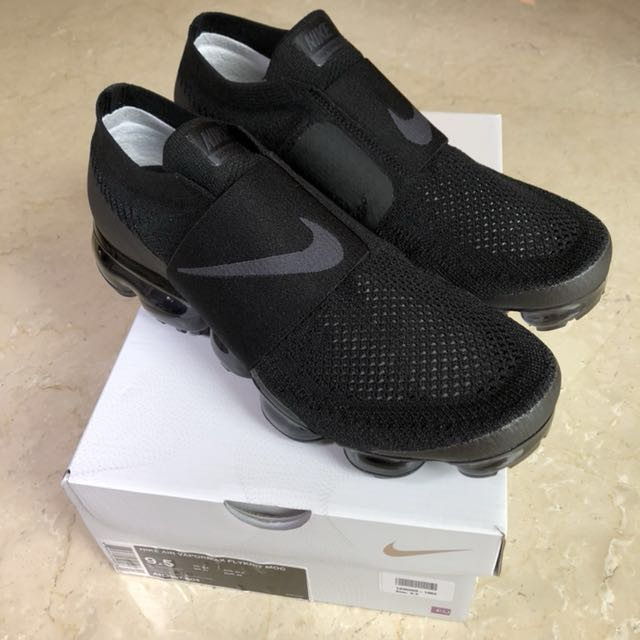 cheaper e7612 38ddb Nike Air Vapormax Flyknit Moc Triple Black (UK8.5; US9.5), Men's ...