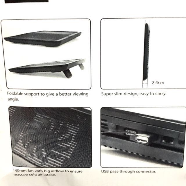 Notebook Cooler black