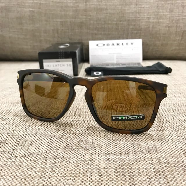 oakley latch prizm tortoise
