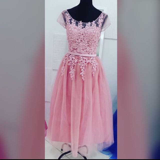 Old Rose Gown