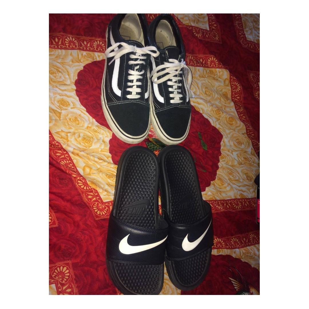 Old School Vans / Nike Slides