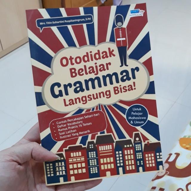 Otodidak Grammar inggris
