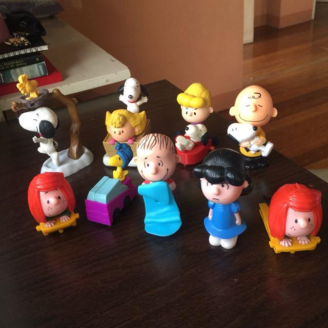 Peanuts x McDonalds Collection