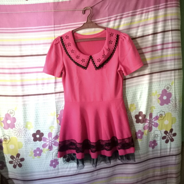 Pink Dress/Blouse