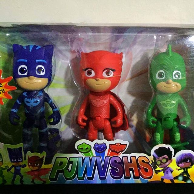 PJ Mask 3 in 1 set with light