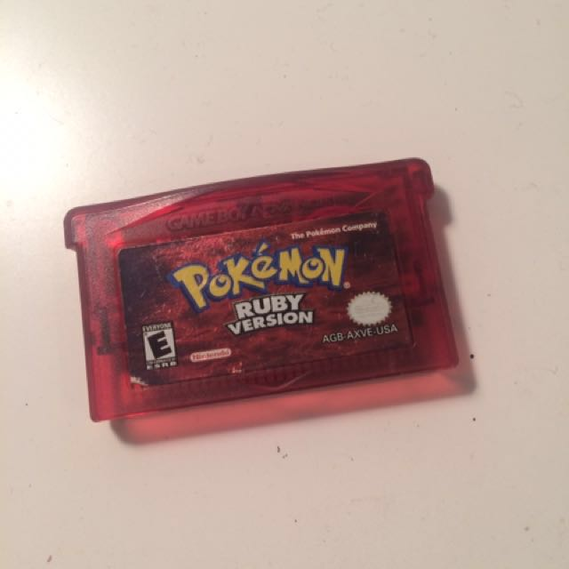 Pokemon Ruby for GB