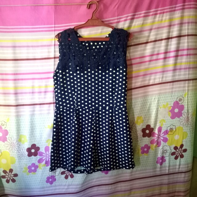 Polka Dot Jumpshort