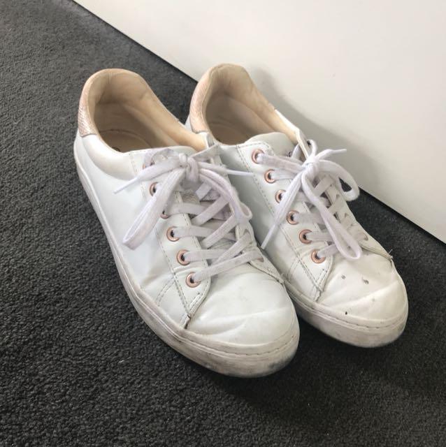 Portmans white sneakers