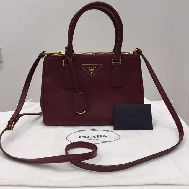 2a5ee1a4d1249d ... canada prada saffiano lux mini double zip tote bag price reduced womens  fashion bags wallets on
