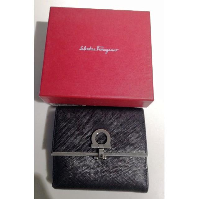 FAKE Salvatore Ferragamo Wallet Black c5bc802f6dd6d