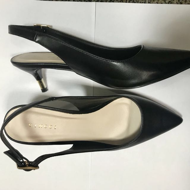 Preloved Vincci Sling Back Heels