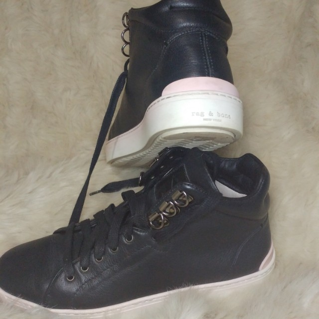 Rag and Bone Kent Leather Sneakers