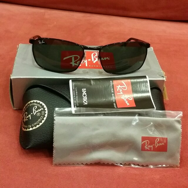 d63d07c7df79 sale ray ban rb8313 sunglasses e17b3 4043a  best rayban sunglasses rb3534 mens  fashion accessories on carousell ee470 c3d10