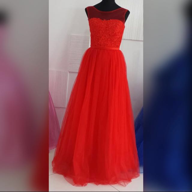 Red Gown #1