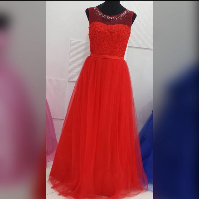 Red Gown #2