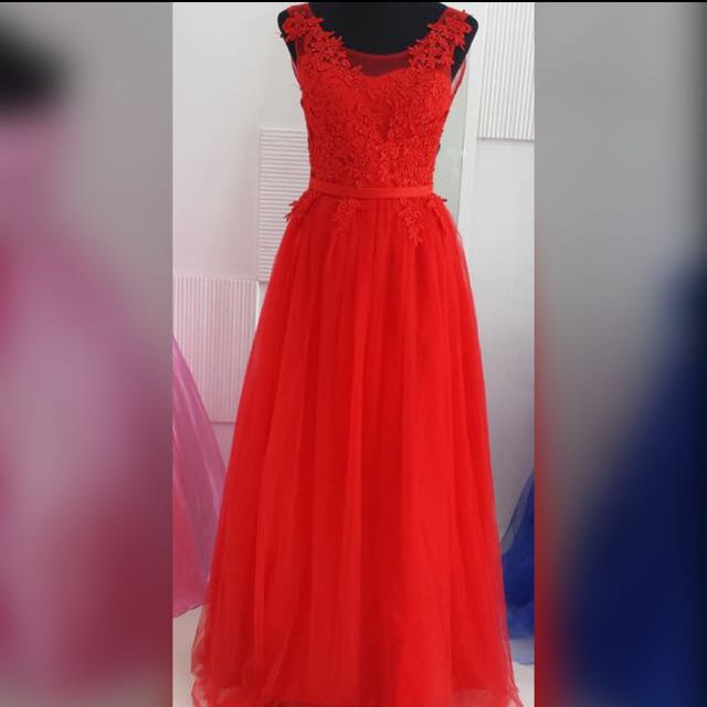 Red Gown #3