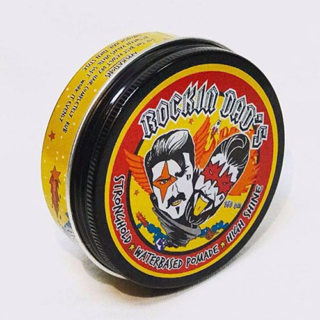Rockin Dads Waterbased Pomade Everything Else Religious Items On Spider Carousell