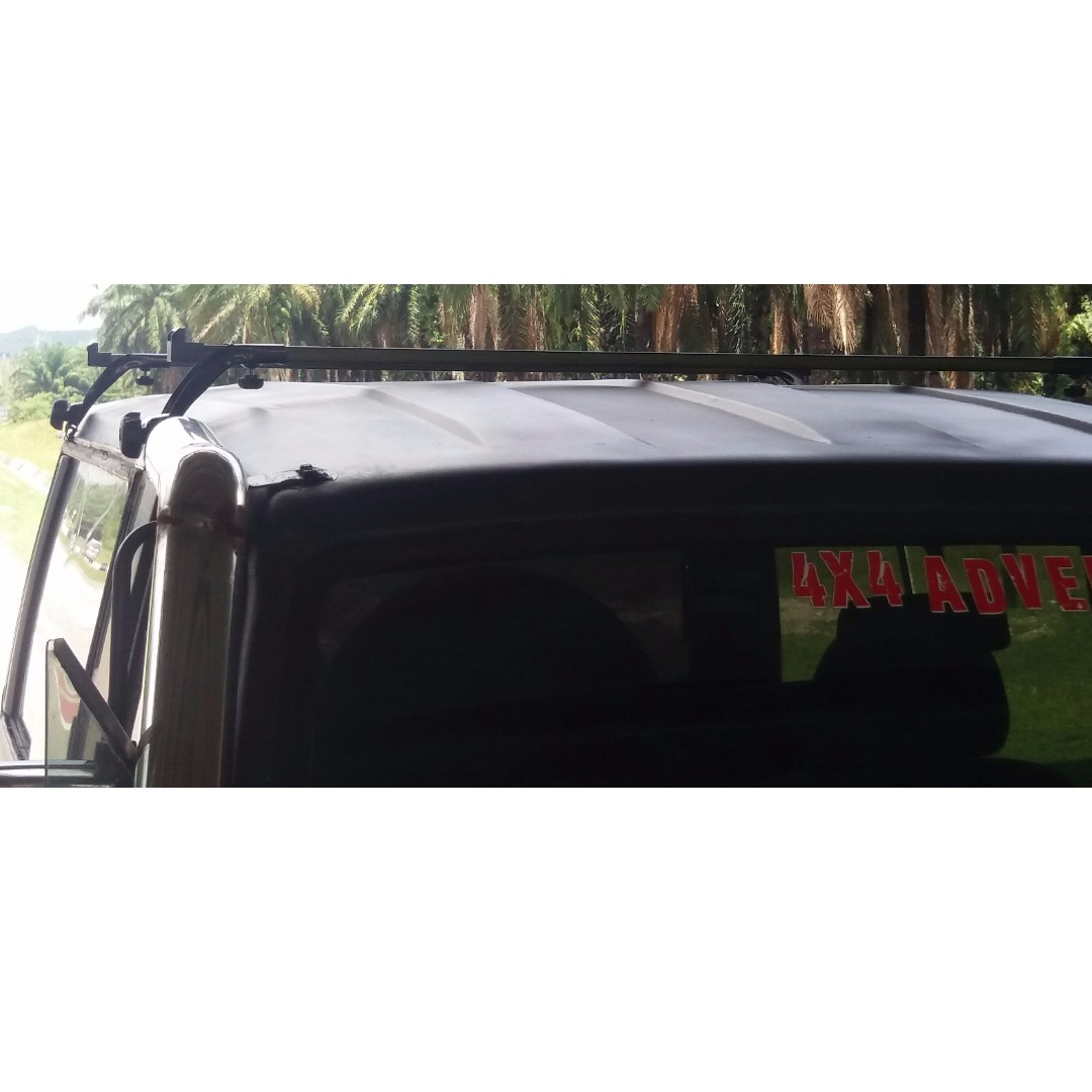 Roof Rack Carrier Bar For Van Vennete Mpv Pajero And Trooper 1 Avanza Auto Accessories On Carousell