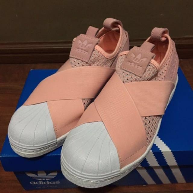 SALE Adidas Superstar Slip On Shoes (Original bought in hongkong)