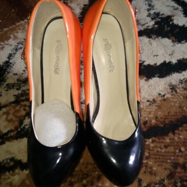 Sepatu high heels 12cm
