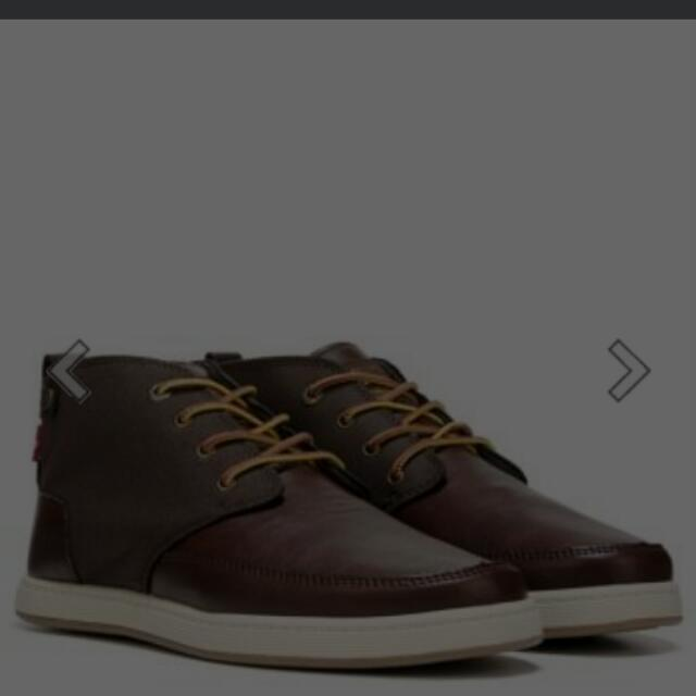 shoes sepatu levis levi's atwater burnish II brown chukka sneaker ori