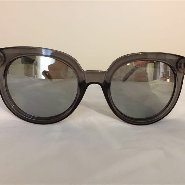 Silver Sportsgirl Sunglasses