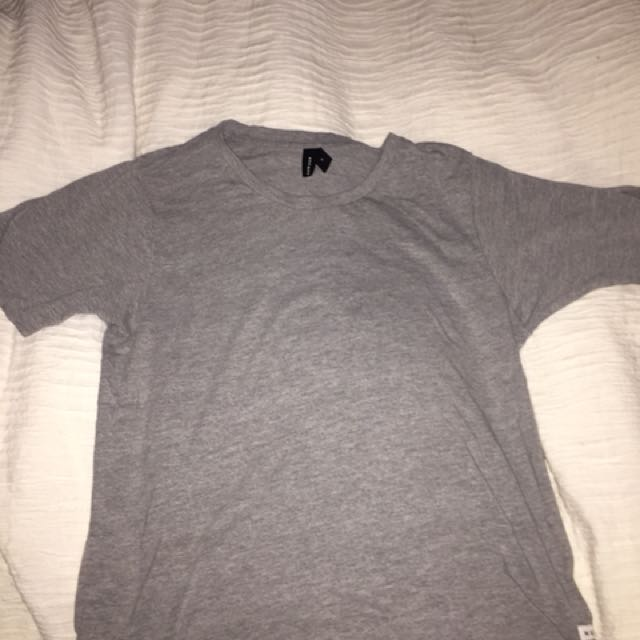 Size 8 Huffer Short Sleeve Grey