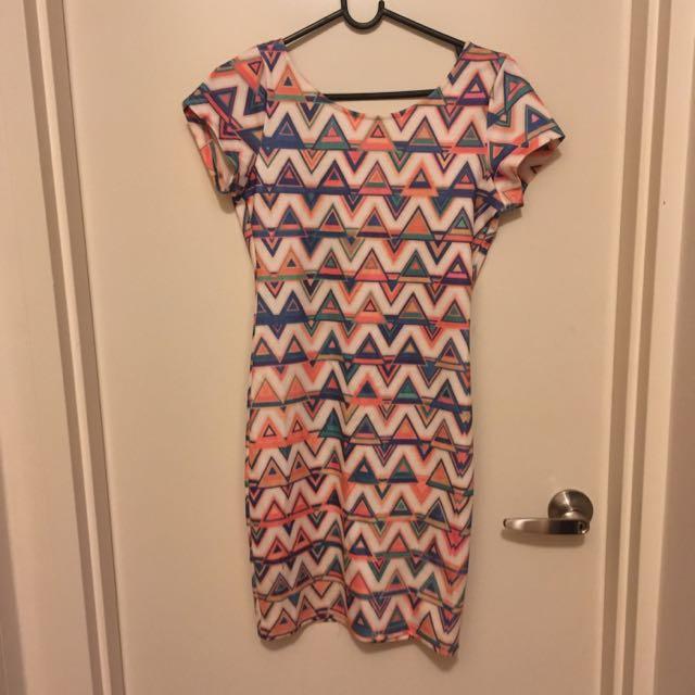 Size 8 Print Dress