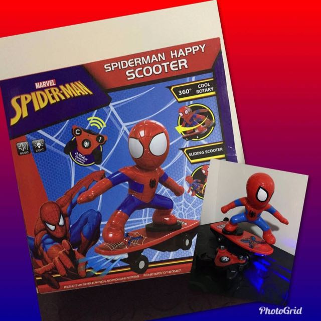 Spiderman Happy Scooter