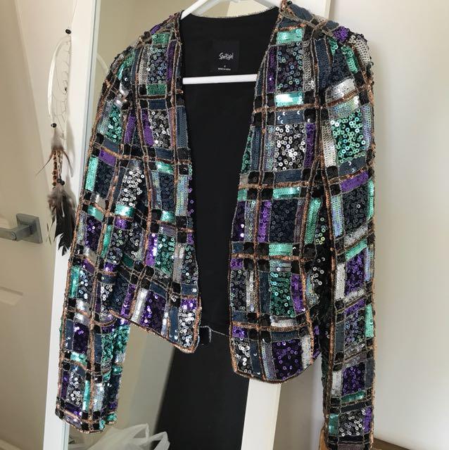 Sportsgirl Sequin Jacket