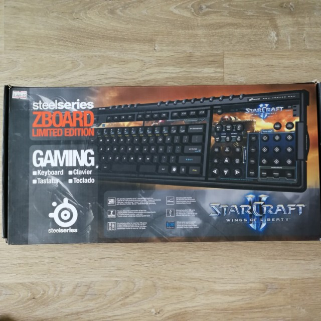 aa73216e720 Steelseries Zboard Gaming Keyboard - Starcraft 2 Keyset #huat50sale, Toys &  Games, Video Gaming, Gaming Accessories on Carousell