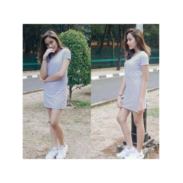 Stripe Dress Basic